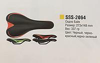 Седло Spelli SSS-2064 Black\Red, фото 1