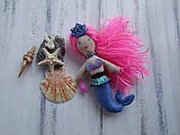 Русалочка кукла в отличный подарок ручная работа девочке принцессе