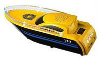 Музыкальная колонка Яхта L10, катер с музыкой, колонка спикер