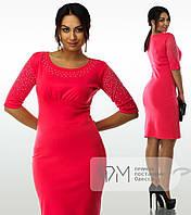 Коктейльное платье большого размера 02046, фото 1