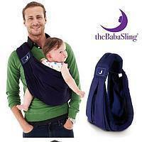 TheBabaSling Classic переноска-cлинг для детей от 0 до 24 мес