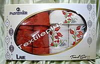 Махровые полотенца Merzuka Lale 6шт Турция, фото 1