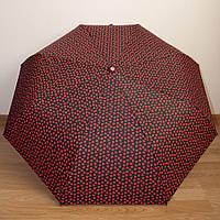 """Красивый женский зонт автомат """"Сердечки"""" 3723/3"""