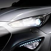 LED лампы в фары автомобиля - головной свет