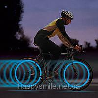 Подсветка для колес велосипеда