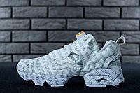 Жіночі кросівки Vetements x Reebok InstaPump Fury топ репліка, фото 1