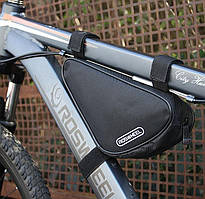 Передняя сумка подрамная Roswheel (треугольник)