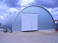 Арочные склады и ангары быстровозводимые металлические АэМэС-ПромСтрой