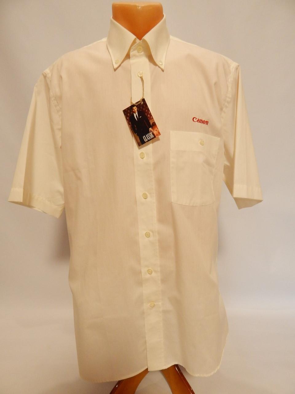 Мужская рубашка с коротким рукавом Canon (069КР) р.50