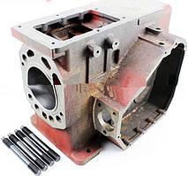 Блок двигателя, поршень 95мм, крышка правая 9отв., крышка левая 6отв., R195NM +гильза+шпильки 4шт