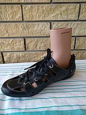 Туфли женские летние с регулировкой полноты шнуровкой SUNFINE, фото 2