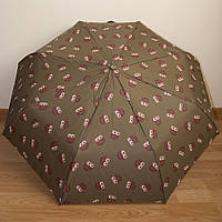 """Красивый женский зонт автомат """"Совы"""" 3732/2"""