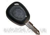 Корпуc ключa Renault Kangoo, Clio, Trafic, Master, 1 кнопкa лезвие NE73