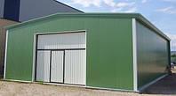Склады и ангары прямостенные быстровозводимые модульные здания на основе металлических конструкций