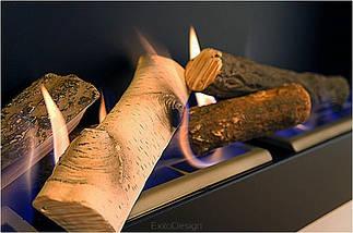 Керамічні дрова GLOBMETAL береза до биокаминам, фото 3