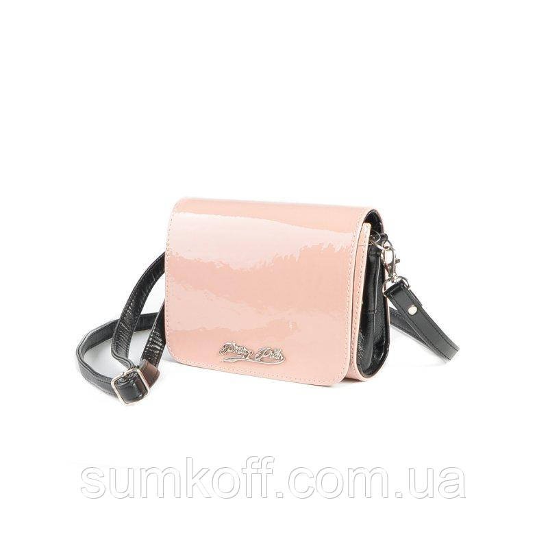 c1dcff894dc6 Розовая лаковая сумка через плечо М69-80/Z кросс-боди: продажа, цена ...