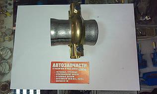 Хомут глушителя с фланцами Д=54 мм.