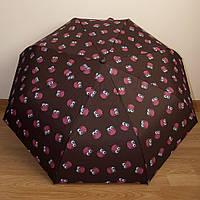 """Красивый женский зонт автомат """"Совы"""" 3732/4"""