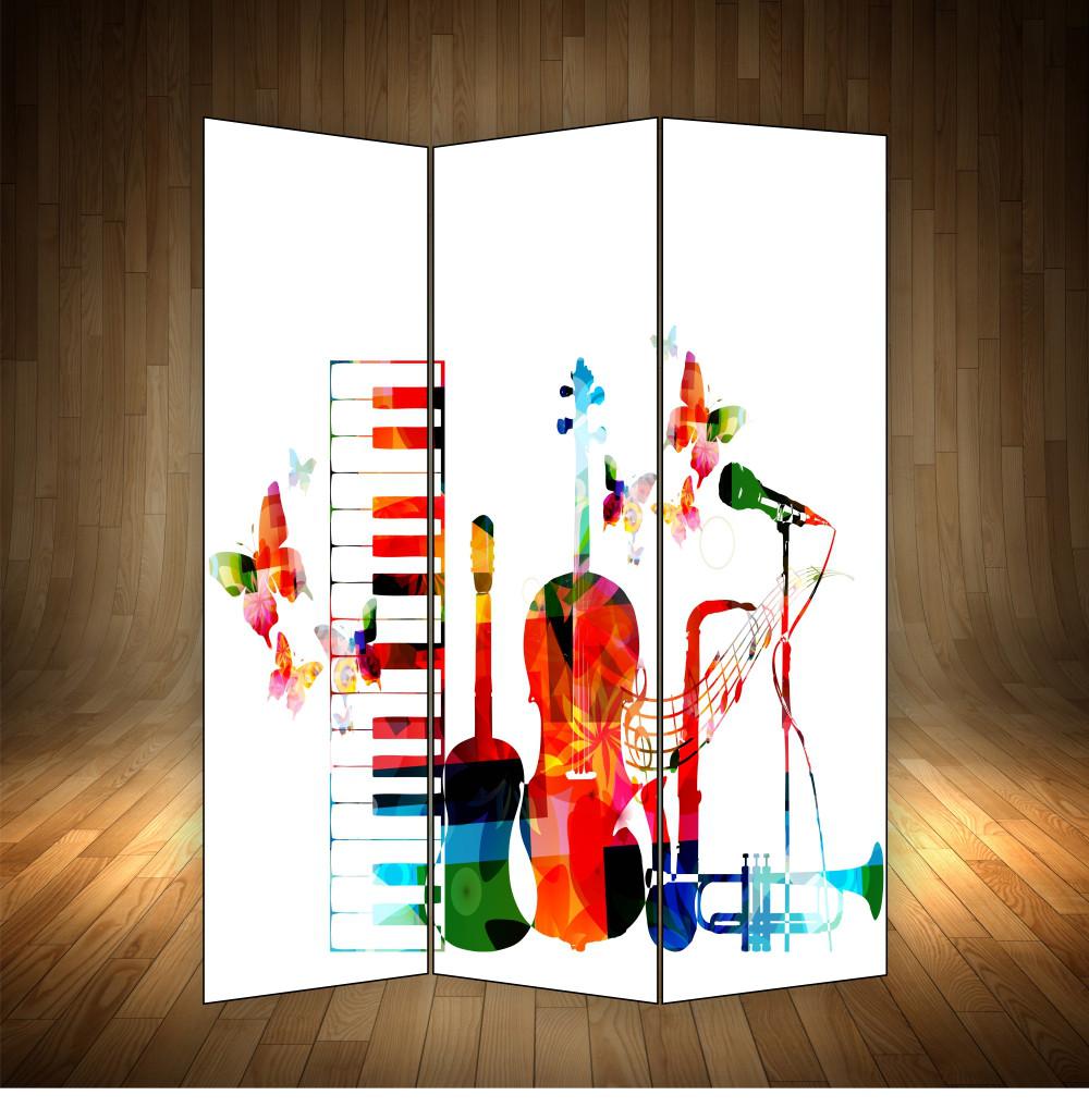 """Ширма декоративна"""" Музичні інструменти"""""""