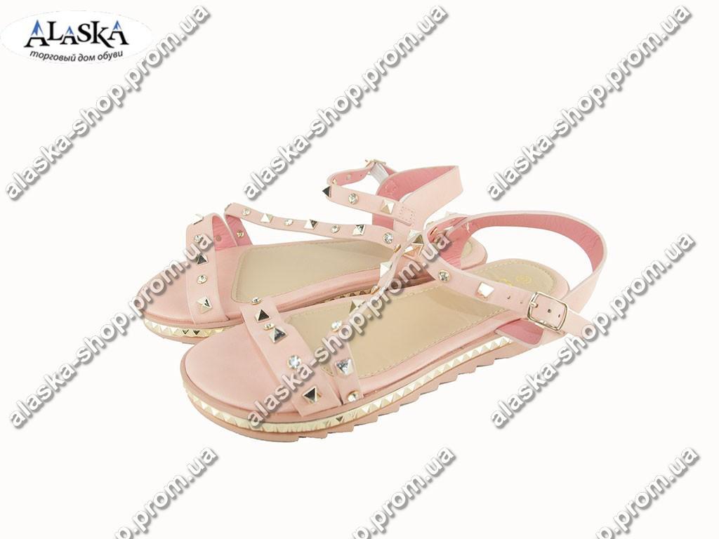 Женские сандалии (Код: Боссоножки LB розовые )