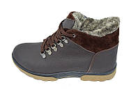 Ботинки зимние на меху подростковые Eggo Montagna K2 Brown