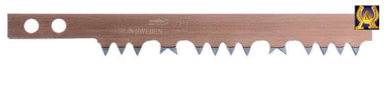 Полотно для лучковой пилы 607 мм для сырой древесины, Bahco 23-24, фото 2