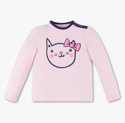 Флисовая кофта с котиком для девочки 5-6 лет C&A Германия Размер 116