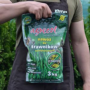 Добриво Agrecol для Газону від бур'янів Hortifoska 3кг