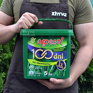 Добриво Agrecol 100 днів для газону 5кг