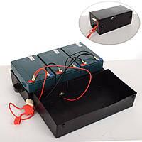 Комплект тяговых аккумуляторов 6DZM12 12V/12A в ящике на детский квадроцикл Crosser\Profi