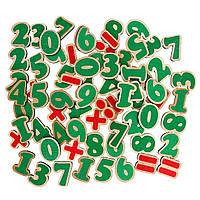 Набір Цифри та знаки на магнітах 72 елементи