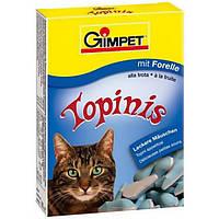 Витаминные мышки с таурином и форелью для кошек Gimpet Topinis, 190 т/220 гр