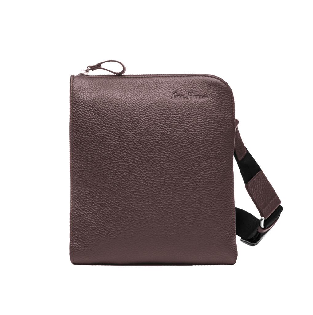Кожаная мужская сумка Issa Hara