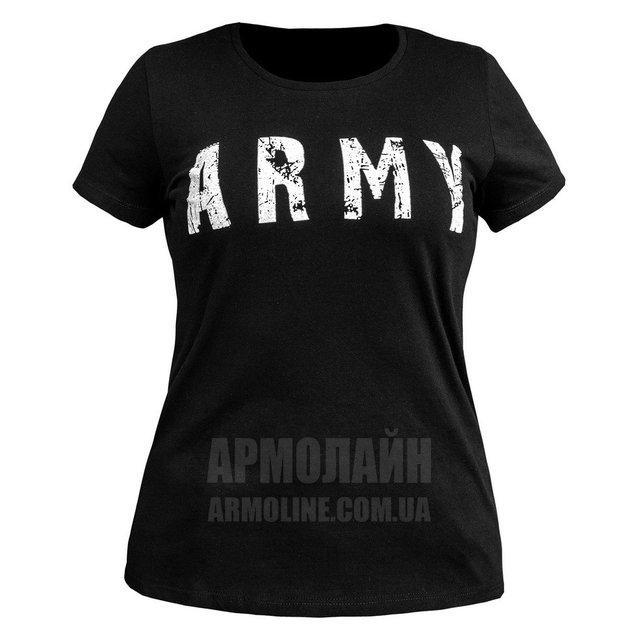 "Футболка ""ARMY"" Чёрная ЖЕНСКАЯ"