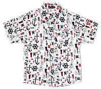 Рубашка для мальчика подростка с коротким рукавом, фото 1