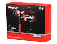 Наушники BeevoBV-EM240 с гарнитурой