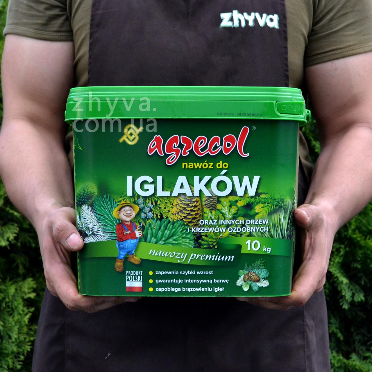 Добриво Agrecol для хвойних рослин 10кг