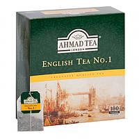 Чай Ахмад English Tea № 1 , 100 пак.