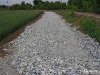 Дробленный бетон для подсыпки дорог с доставкой нашими самосвалами 25-30 т
