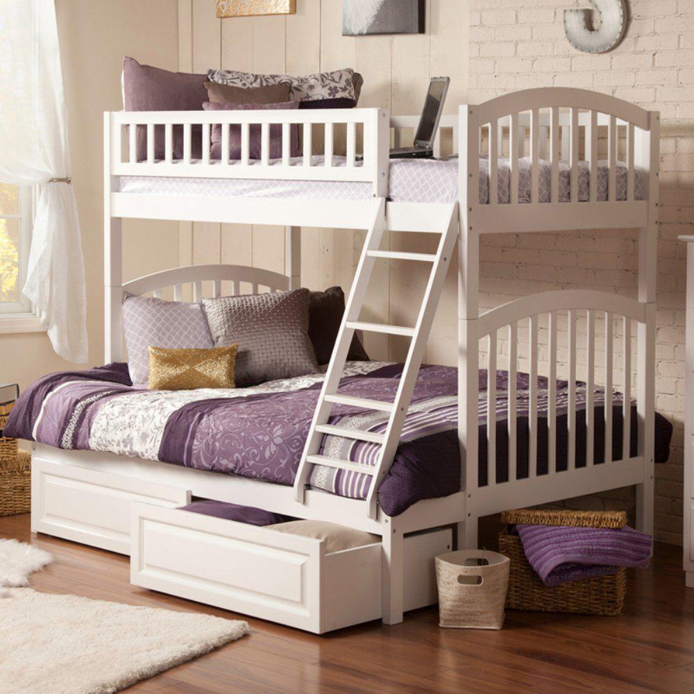 """Двухъярусная кровать из массива дерева """"Андреа"""""""