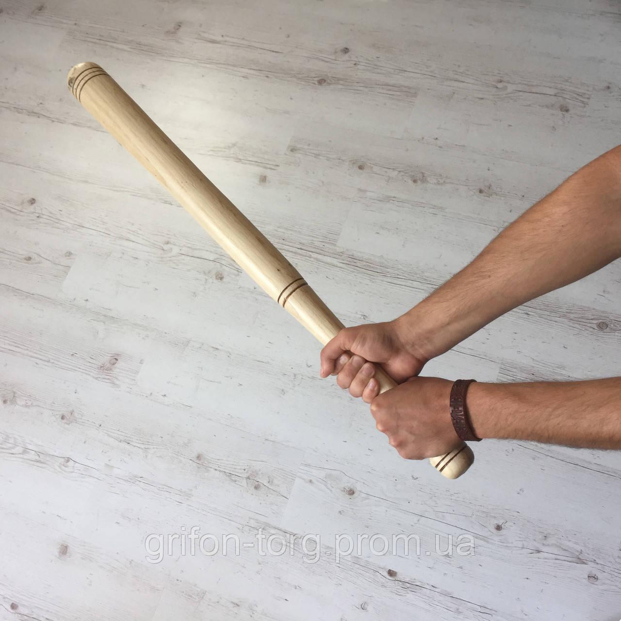 Бита деревянная бейсбольная 80 см