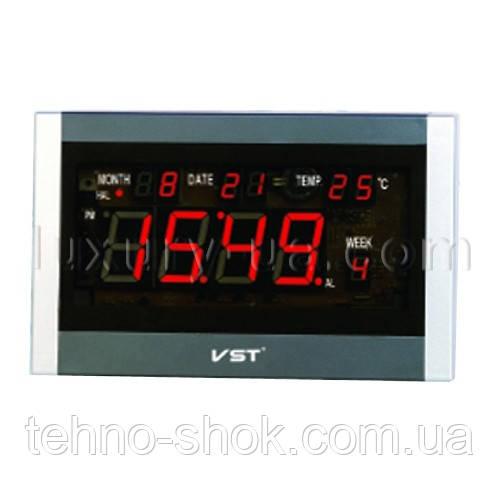 Часы сетевые 771 Т-1 красные