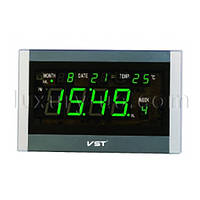 Часы сетевые 771 Т-4 салатовые