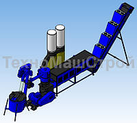 Линия гранулирования MLG-1500 MAX, до 450 кг\час на пелетах
