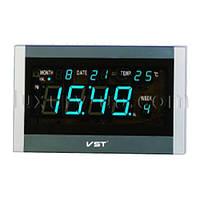 Часы сетевые 771 Т-5 синие