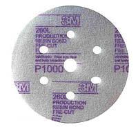 Круги шлифовальные 3M Hookit™ 260L Р1500 50238