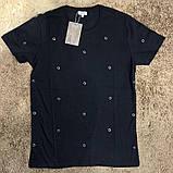 Футболка мужская Valentino Hole Dot 18580 черная, фото 5