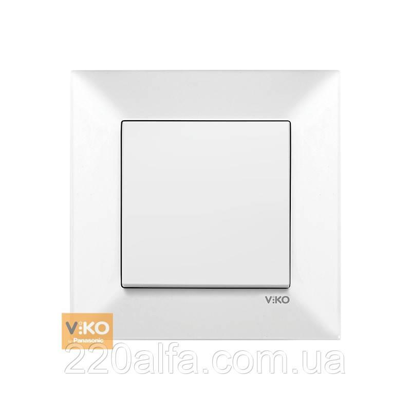 Выключатель Viko MERIDIAN, белый, 1 кл.