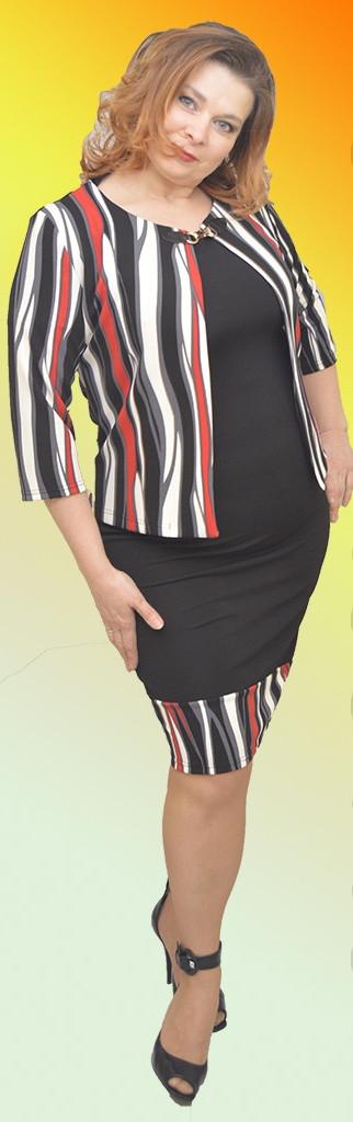 Женское платье с пиджаком № 860