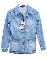 Пиджак женский джинсовый Crown Jeans модель 466 (IGLO BLUE) Vintage denim collection M